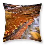 Sandstone Cascade Throw Pillow