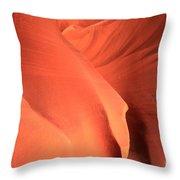 Sandstone Flesh Throw Pillow