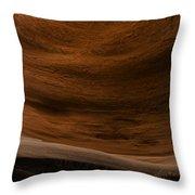 Sandstone Flow Throw Pillow