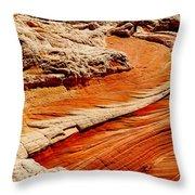 Sandstone Highway Throw Pillow