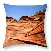 Sandstone Ledge Throw Pillow