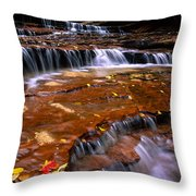 Sandstone Ledge Throw Pillow
