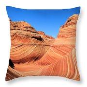 Sandstone Rainbow Throw Pillow