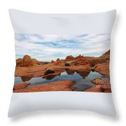 Sandstone Reflections 2 Throw Pillow