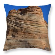 Sandstone Rock Formation Zion National Park Utah Throw Pillow