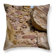 Sandstone Steps Throw Pillow