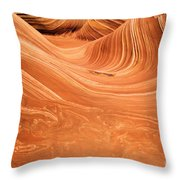 Sandstone Tide Throw Pillow