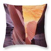 Sandstone Veils Throw Pillow