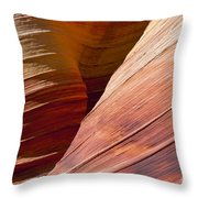 Sandstone Wave Formations Throw Pillow