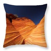 Sandstone Waves Throw Pillow