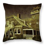 Sandy Hook Beach Home Throw Pillow