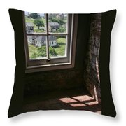 Sandy Hook View From The Lighthouse Throw Pillow