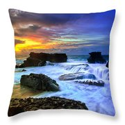 Sandys Early Morning Throw Pillow