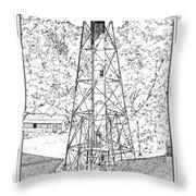 Sanibel Island Light Throw Pillow