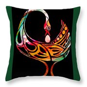 Sankofa Throw Pillow