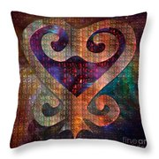 Sankofa 1 Throw Pillow