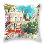Sanlucar De Barrameda 03 Throw Pillow