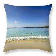 Sanna Bay Ardnamurchan Peninsula Throw Pillow