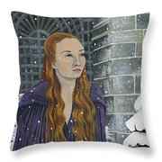 Sansa Stark Throw Pillow