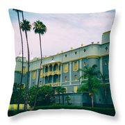 Santa Anita Park Race Track Throw Pillow