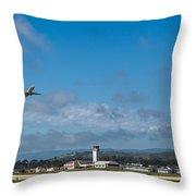 Santa Barbara Takeoff Throw Pillow