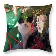 Santa Bring Tuna Throw Pillow