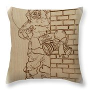 Santa Claus - Feliz Navidad Throw Pillow