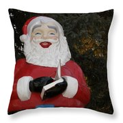 Santa Clause Throw Pillow