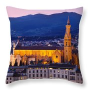 Santa Croce Throw Pillow