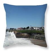 Santa Cruz Coast  Throw Pillow