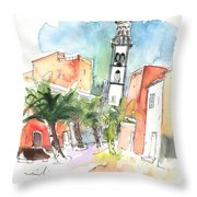 Santa Cruz De Tenerife 02 Throw Pillow