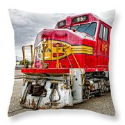 Santa Fe 95 In Retirement Throw Pillow