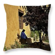 Santa Fe Afternoon - New Mexico Throw Pillow