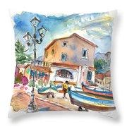 Santa Flavia 01 Throw Pillow