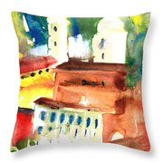 Santa Margherita In Italy 13 Throw Pillow