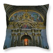 Santa Maria Church In Assisi Italy Throw Pillow