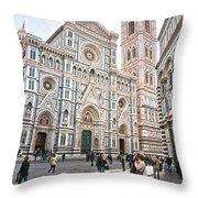 Santa Maria Del Fiore - Florence Throw Pillow