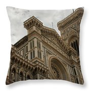 Santa Maria Del Fiore - Florence - Italy Throw Pillow