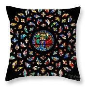 Santa Maria Del Mar - Barcelona Throw Pillow