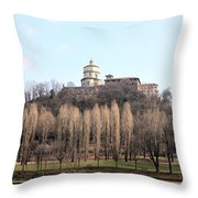 Santa Maria Del Monte Church Throw Pillow
