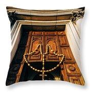 Santa Maria Del Rosario Throw Pillow