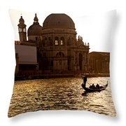 Santa Maria Della Salute - Venice Throw Pillow