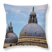 Santa Maria Della Salute Throw Pillow
