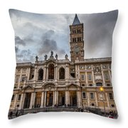 Santa Maria Maggiore Throw Pillow