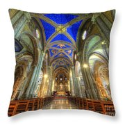 Santa Maria Sopra Minerva Throw Pillow