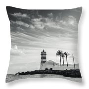 Santa Marta Lighthouse I Throw Pillow