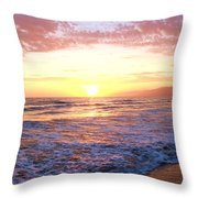 Santa Monica II Throw Pillow
