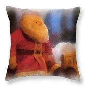 Santa Photo Art 07 Throw Pillow