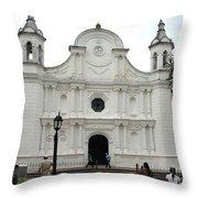 Santa Rosa Cathedral Throw Pillow