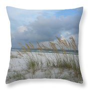 Santa Rosa Island National Seashore Throw Pillow